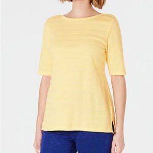 Perfectly Soft Charter Club top, 100% PIMA cotton